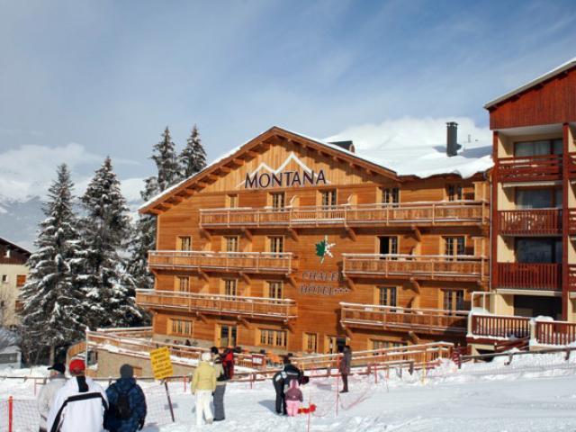 Montana Chalet Hotel Spa Le Sauze