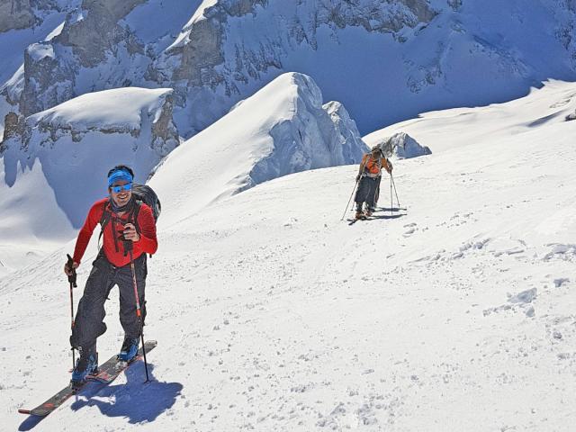 Ski De Rando - Tête De L'aupet