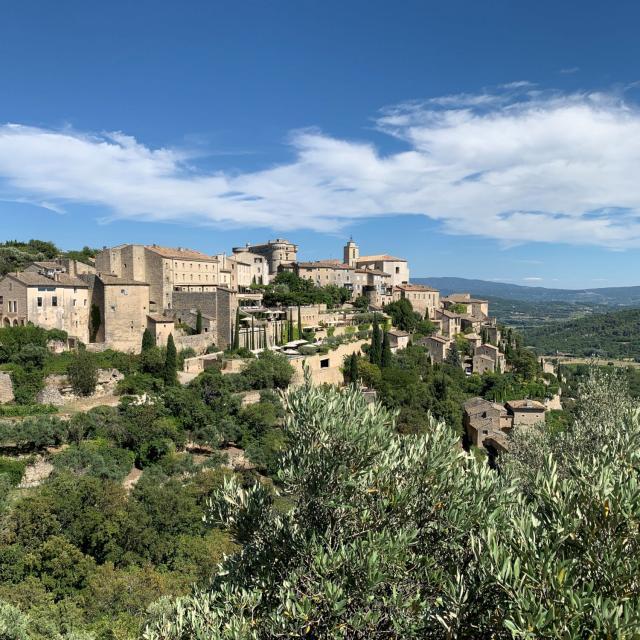 Village de Gordes dans le Luberon