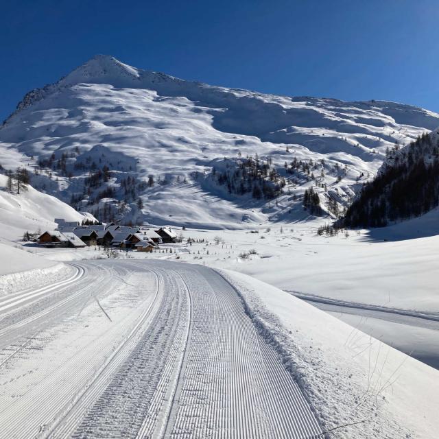 Ski de fond, Cervières