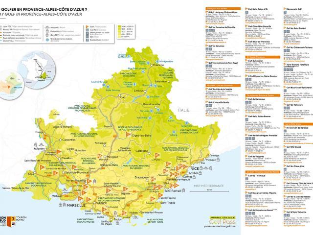 Carte Golfpass 2021