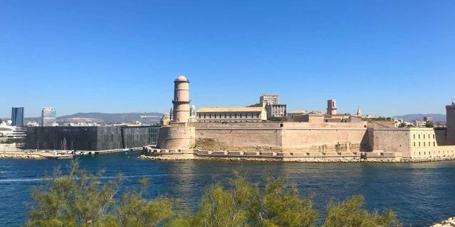Fort Saint-Jean & Mucem à Marseille