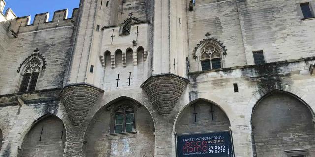Palais Des Papes Avignon C.chillio