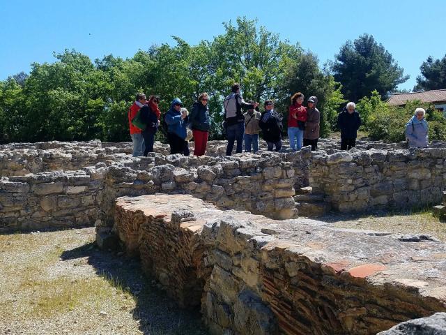 Visite Ruines D Entremont