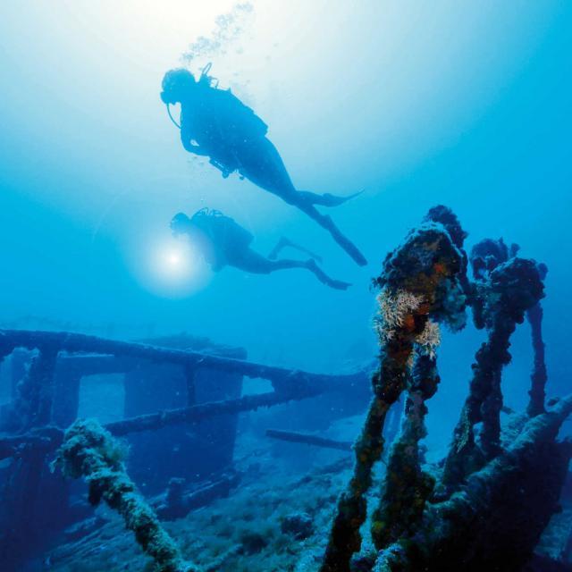 spots sous marins