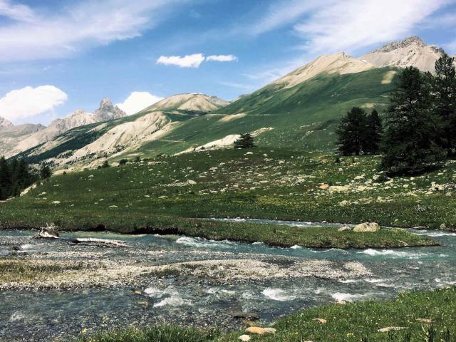 Vallée de Lauzanier en Haute-Ubaye