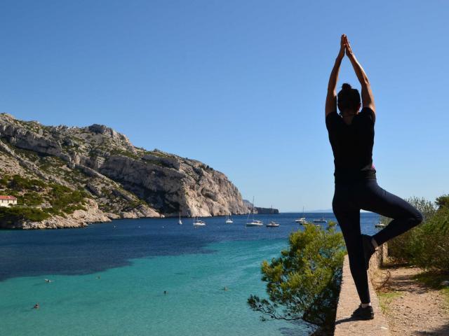 Yoga Calanques Marseille Ereisetrip