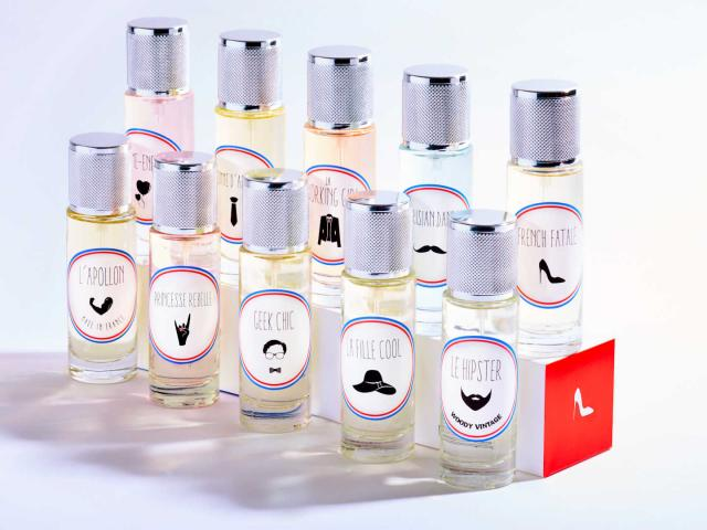Gamme Le Parfum Citoyen Adrien Gautier