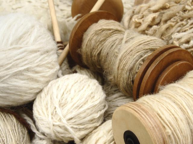 Different types of spun yarn a natural