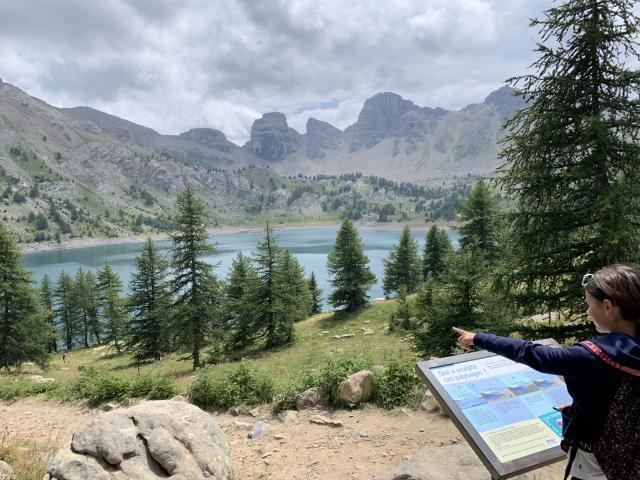 Randonnée au lac d'Allos Alpes De Haute Provence