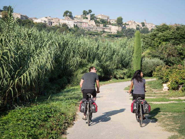 Vélo en Luberon, Vaucluse