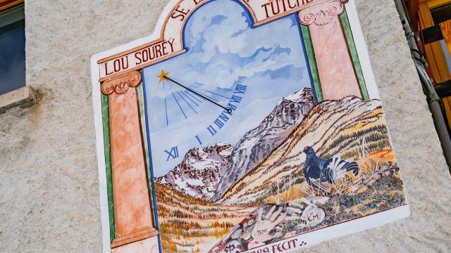Cadran Queyras Alpes Rvanrijnr