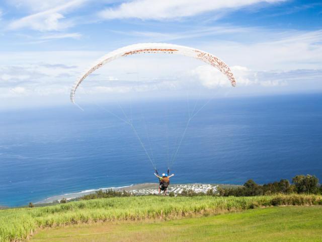 Gleitschirmflug La Réunion