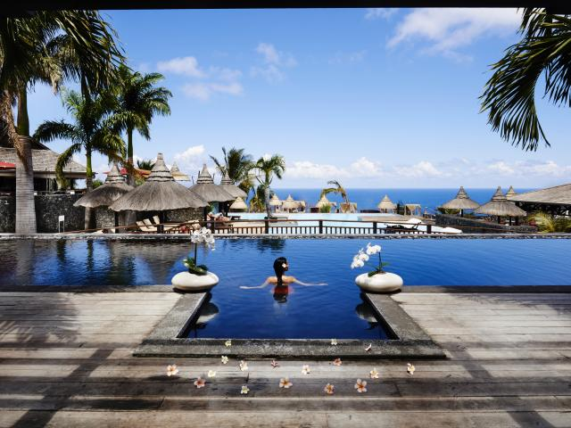 Piscine palm hotel