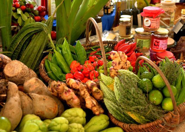 Légumes de La Réunion