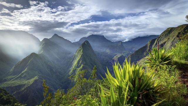 Mafate,La Réunion