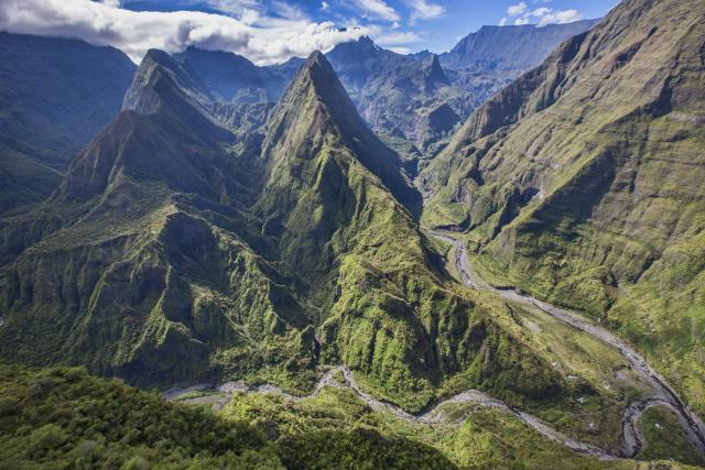 Paysages à la Réunion