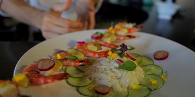 Salade de chou palmiste