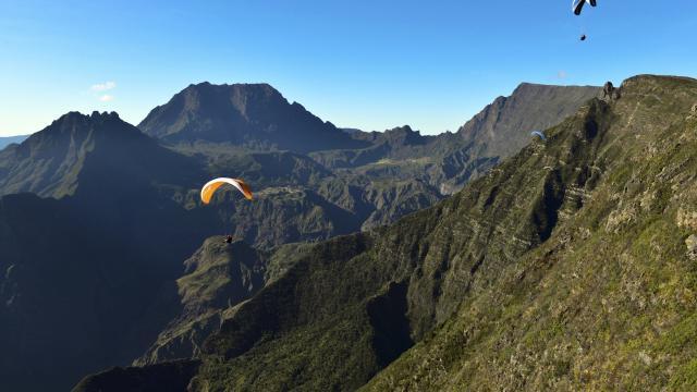 activités sur les hauts de la Réunion: sport et découverte