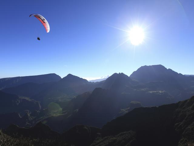 Parapente, Maido, La Réunion