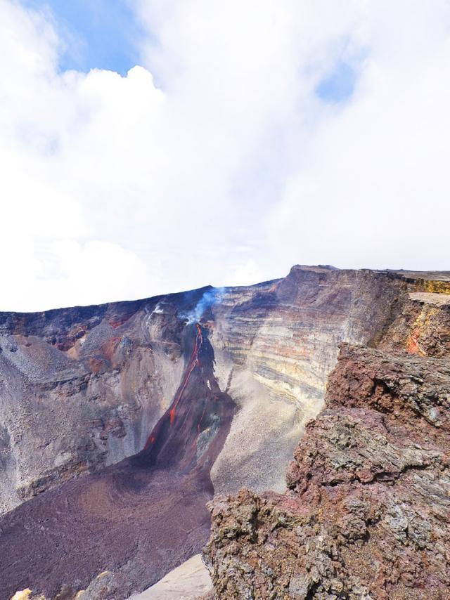 les plus belles photos du volcan