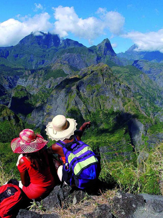 Randonnée, La Réunion