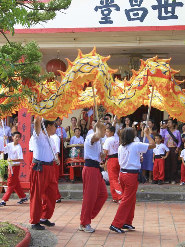 Religion chinoise, La Réunion