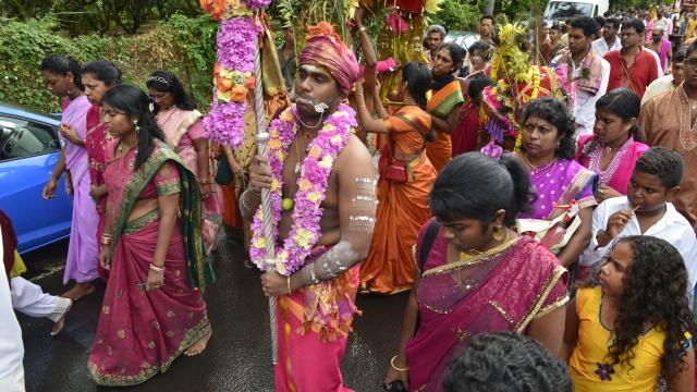 fête tamoule, La Réunion