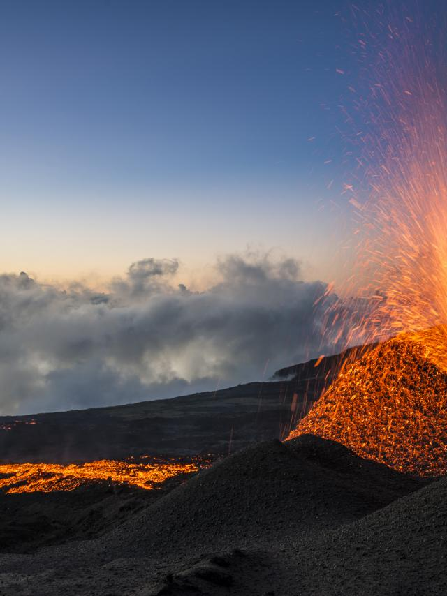 Eruption du Piton de la Fournaise, La Réunion