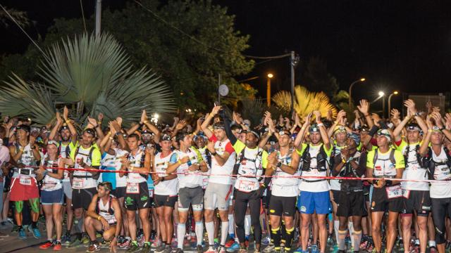 Coureurs du grand raid de La Réunion