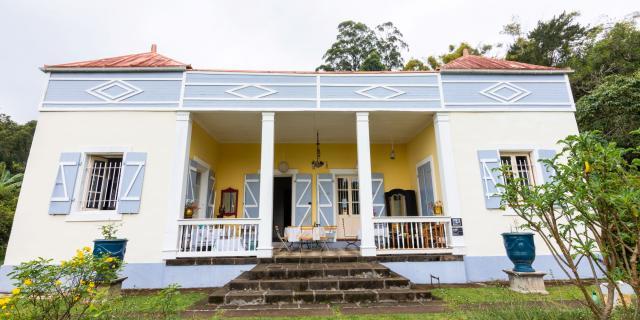 Bienvenue Domaine Beaubassin Facade Maison Dt Irt@la Petite Creole