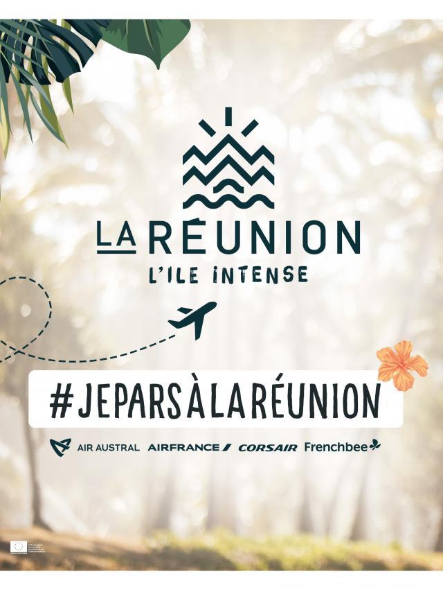 #JeParsàLaRéunion