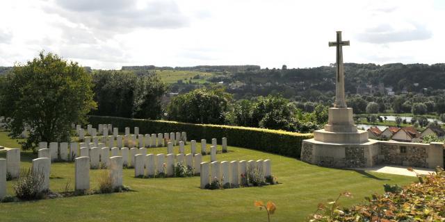 Cimetière des Caffres situé dans la ville d'Arques-la-Bataille.
