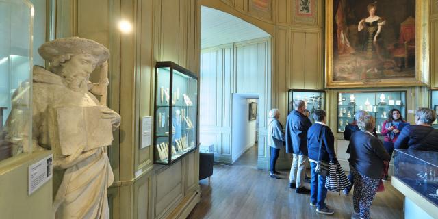 Salle des ivoires Musée de Dieppe