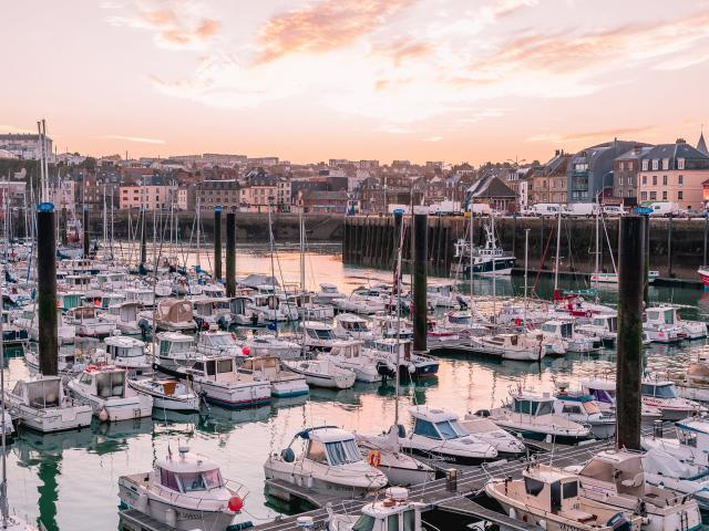 Port de Plaisance à Dieppe