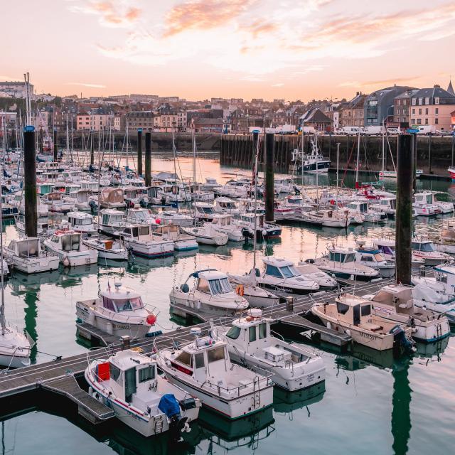 Port de Plaisance à Dieppe