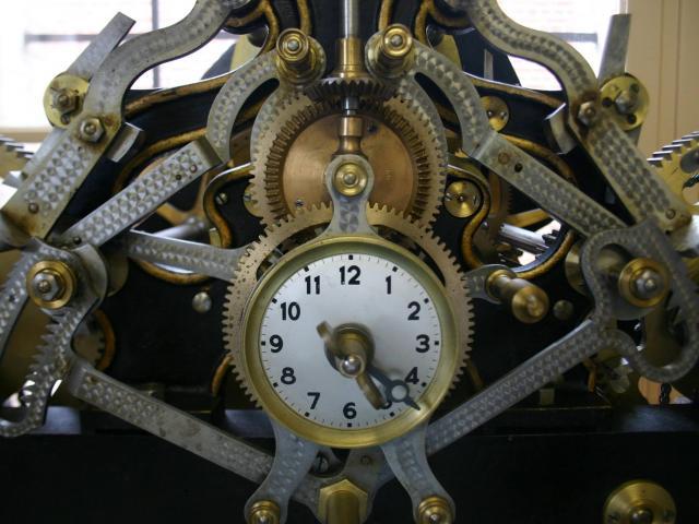Engrenages et mécanisme d'une grande horloge