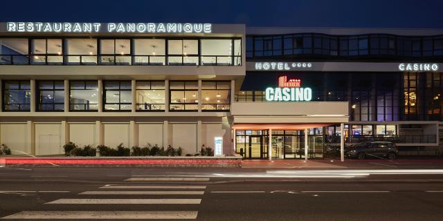 Façade du casino de Dieppe