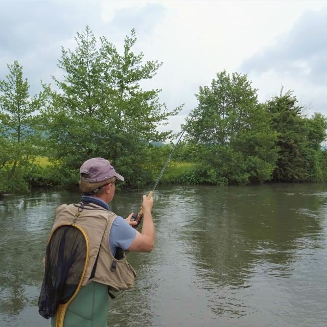 Pêche en eau douce à la Varenne