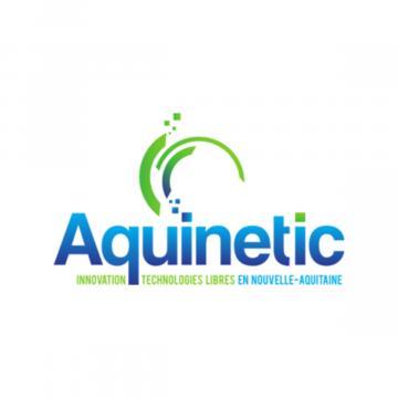 Logo Aquinetic Innovation Technologies Libres En Nouvelle Aquitaine