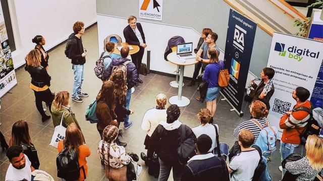 Rencontre étudiants Excelia Group2019