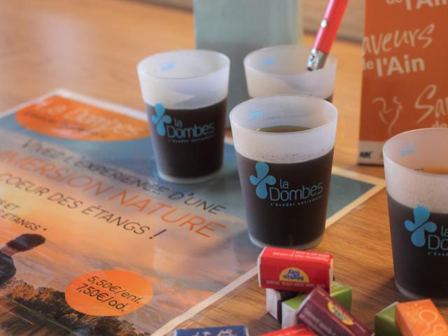 Verres avec café