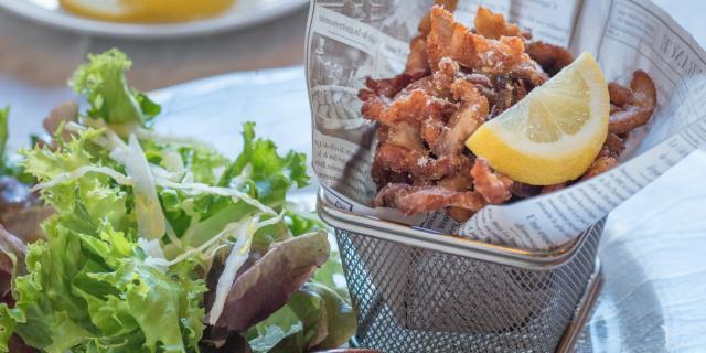Goujonnettes de Carpe du restaurant Oh Bouchoux