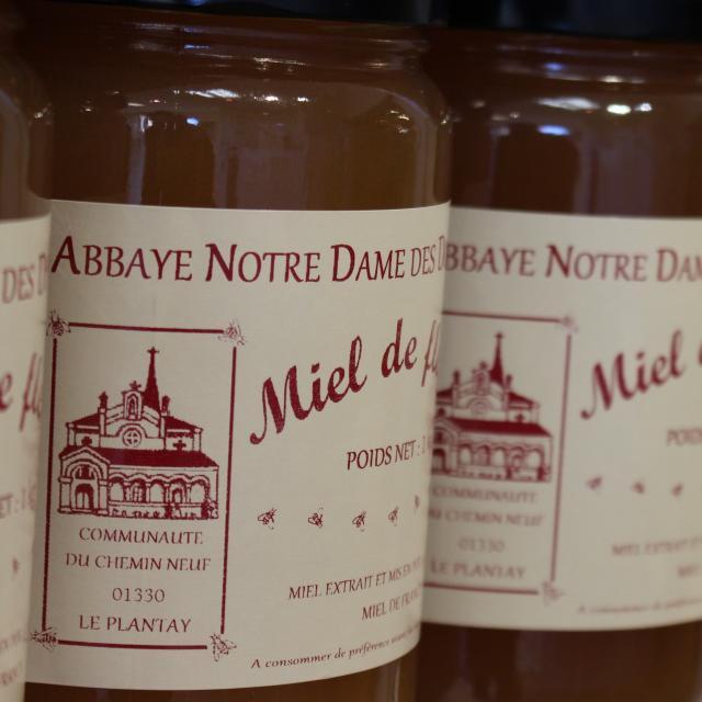 Miel de l'Abbaye Notre Dame des Dombes au Plantay