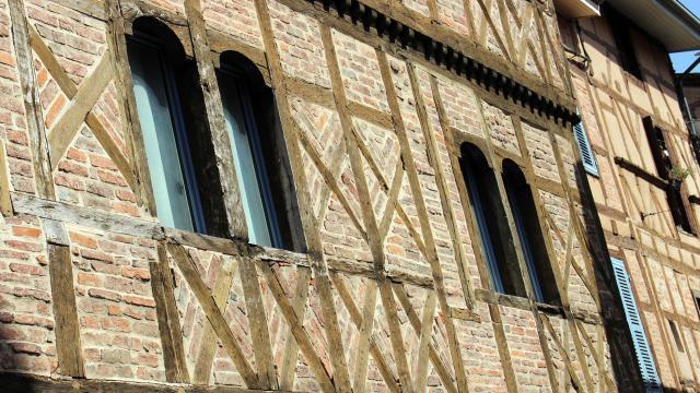 Maisons à colombages Châtillon-sur-Chalaronne
