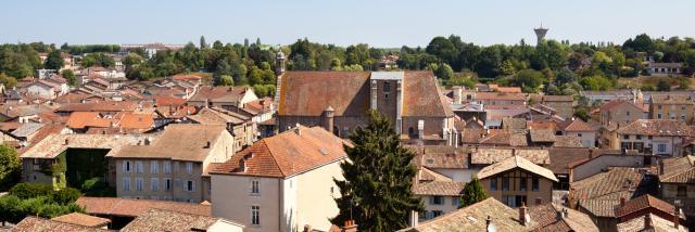 Decouverte du patrimoine de Chatillon-sur-Chalaronne, Ain.