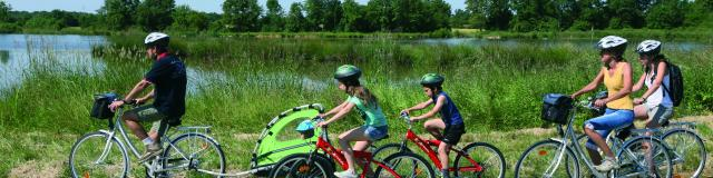 Vélo en Dombes