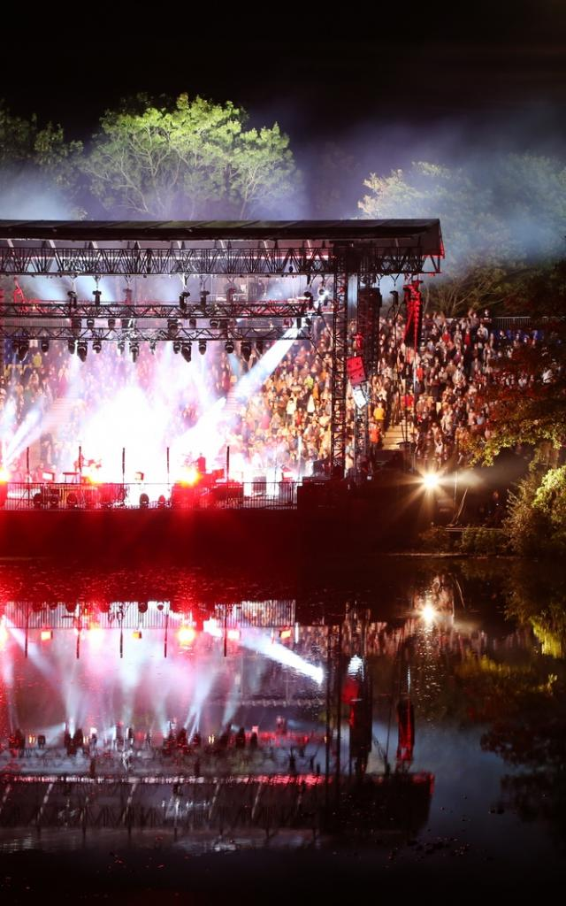Concert Guegan aux Musicales du Parc des Oiseaux