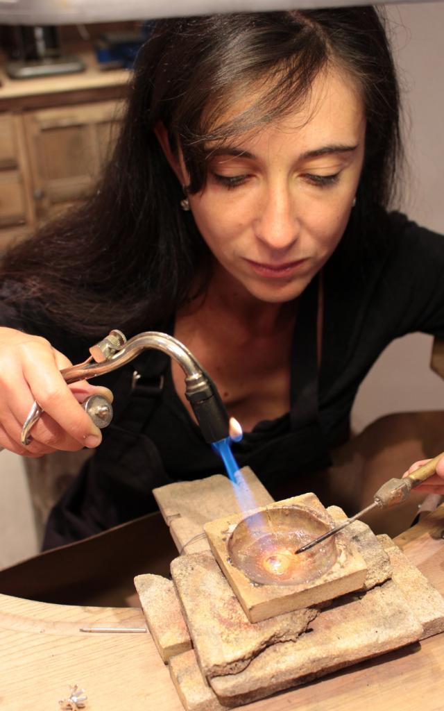 Emmanuelle Gadenne, Bijoutière d'art, Châtillon-sur-Chalaronne