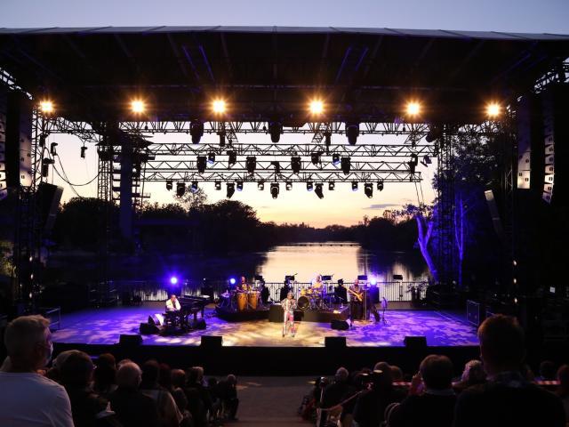Concert Kidjo aux Musicales du Parc des Oiseaux